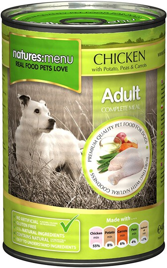 Natures Menu Chicken, Vegetables and Rice