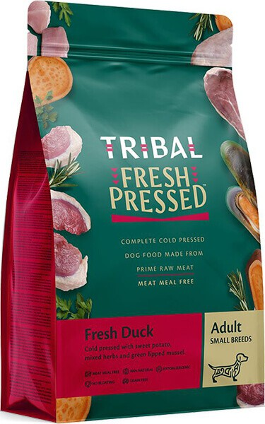 Tribal Fresh Pressed Complete Cold Pressed Small Breed Duck